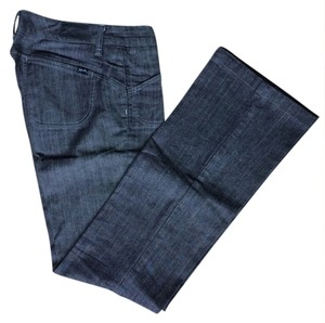 Denim Boot Cut Jeans-Dark Rinse