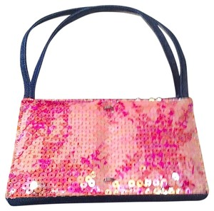 Chanel Denim Sequin Vintage Tote Baguette