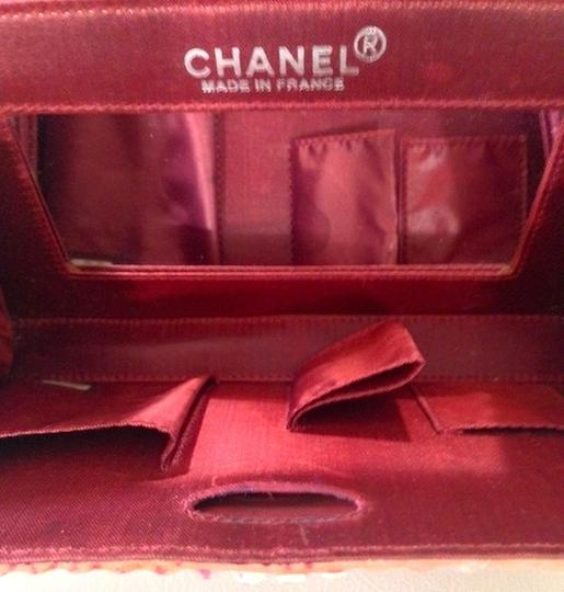Chanel Denim Vintage Evening With Box Baguette