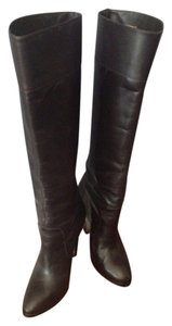 Michael Kors Leather Espresso Brown Boots