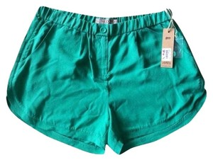 Calypso St. Barth Silk Teal Nwt Medium St. Shorts Wheatgrass