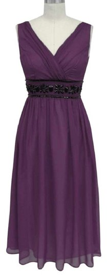 Preload https://item1.tradesy.com/images/purple-chiffon-goddess-beaded-waist-cocktail-formal-modern-bridesmaidmob-dress-size-26-plus-3x-116035-0-1.jpg?width=440&height=440