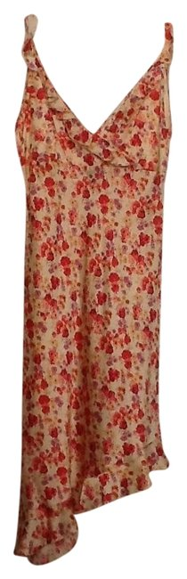 Express short dress Pink floral and cream multi on Tradesy