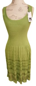 M Missoni short dress Green Tank Lace on Tradesy