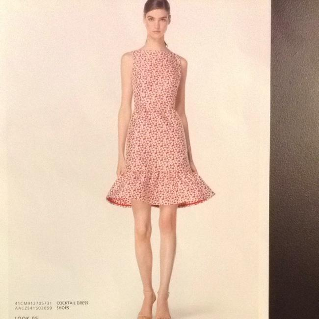 Carolina Herrera Embro Embroidered Dress