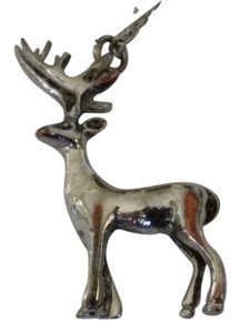 Other Silver Deer Necklace