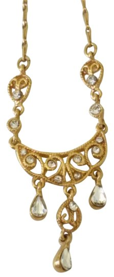 Other Delicate Gold Statement Necklace Image 0