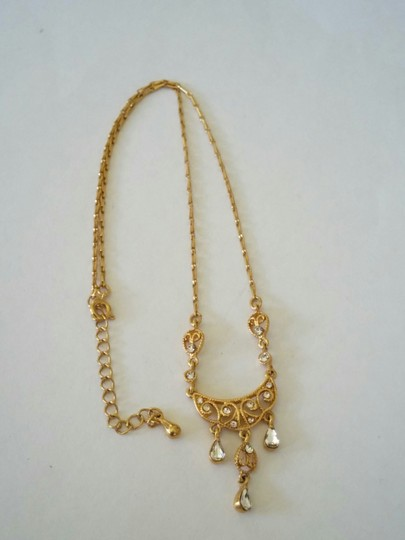 Other Delicate Gold Statement Necklace Image 2