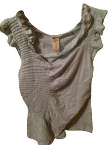 Anthropologie T Shirt Light Blue