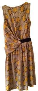 Rachel Roy short dress Multi-colored - Yellow and Gray on Tradesy