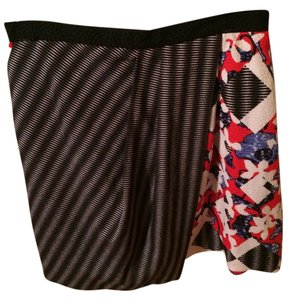 Peter Pilotto for Target Skirt Multi-colored - Red, Black, White and Blue