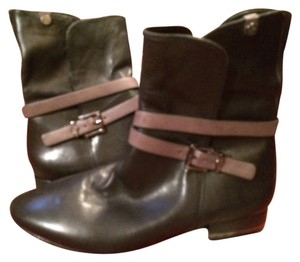 BCBGMAXAZRIA Black and Brown Boots