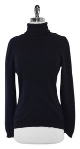 Brunello Cucinelli Black Cashmere Turtleneck Sweater