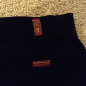 7 For All Mankind Excellent Condition Shorts Black