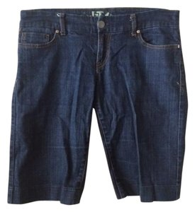 !iT Jeans Denim Shorts-Dark Rinse
