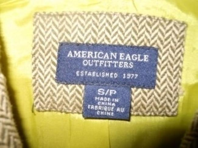 American Eagle Outfitters brown and tan Blazer