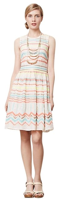 Preload https://img-static.tradesy.com/item/11608813/plenty-by-tracy-reese-cream-with-multi-colored-stripes-sunglow-above-knee-short-casual-dress-size-2-0-1-650-650.jpg