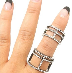 Other BOLD & GLAMOUROUS STATEMENT RING W/RHINESTONES