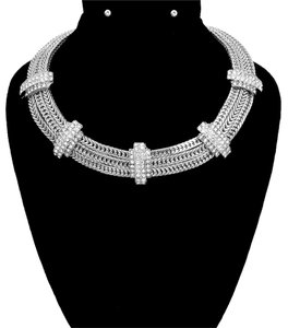 Other BOLD & GLAMOUROUS CLASSIC HOLLYWOOD NECKLACE W/RHINESTONES