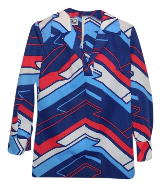 Preload https://img-static.tradesy.com/item/11609254/multi-colored-vintage-womans-knit-polyester-60s-tunic-size-12-l-0-1-650-650.jpg