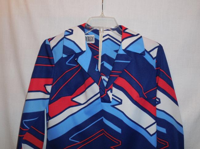 Mister Robert Vintage Womans Knit Polyester 60s Tunic Image 1