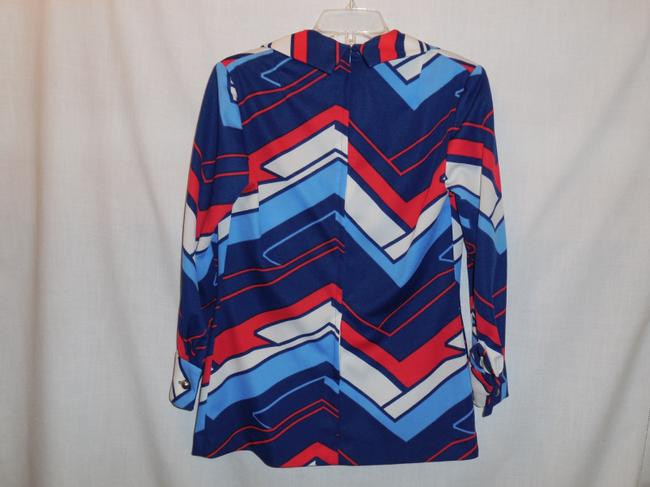 Mister Robert Vintage Womans Knit Polyester 60s Tunic Image 2