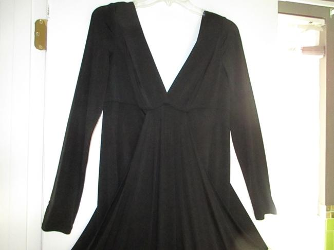 Nine West Comfortable Fabric V-neck Fully Lined Dry Clean Dress Image 1