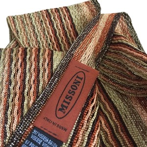Missoni ORANGE LABEL SCARF. MADE IN ITALY