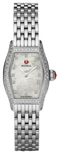 Michele NEW Authentic Michele Urban Coquette Diamond Pave MWW08A000226 Limited Ladies Watch