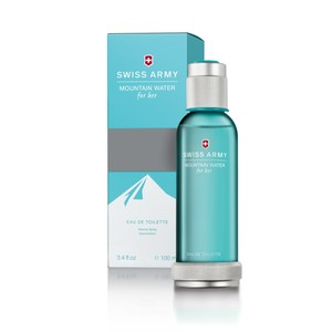 Victorinox MOUNTAIN WATER FOR HER by SWISS ARMY EDT Spray ~ 3.4 oz / 100 ml