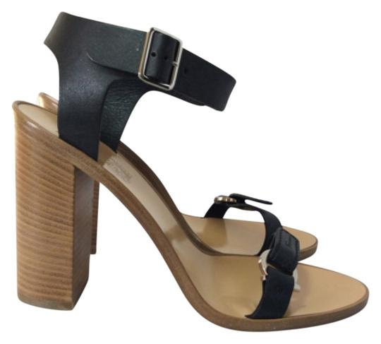 Salvatore Ferragamo Black Sandals Image 1