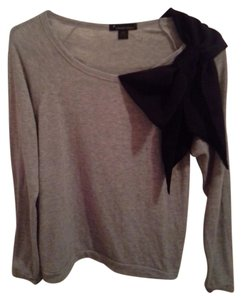 Forever 21 Bow Scarf Sweatshirt Sweater