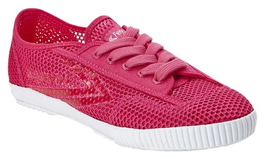 Feiyue Womens Mesh Sneakers Fuchsia Athletic Image 0