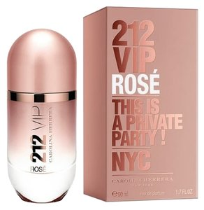 Carolina Herrera 212 VIP ROSE by CAROLINA HERRERA Eau de Parfum Spray ~ 1.7 oz / 50 ml