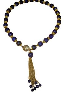 Sabella Lapis Blue with Gold Accents