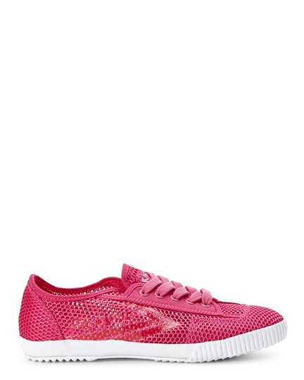Feiyue Womens Mesh Sneakers Fuchsia Athletic Image 1