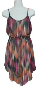Ruby Rox short dress Multi-color Purple Pink Brown on Tradesy