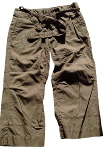 Banana Republic Capris olive brown
