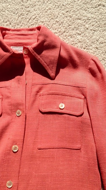Jones New York Button Down Shirt coral
