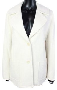 Talbots Button Down Notched Lapel Trench Coat