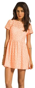 Miss Me short dress ORANGE The Buckle Lace on Tradesy