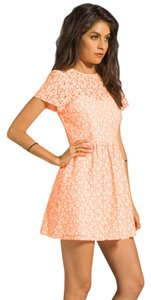 Miss Me short dress ORANGE The Buckle Lace Country Wedding on Tradesy