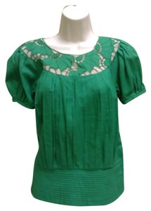 Catherine Malandrino Top Green