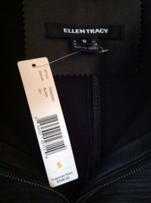 Ellen Tracy black Leather Jacket Image 3