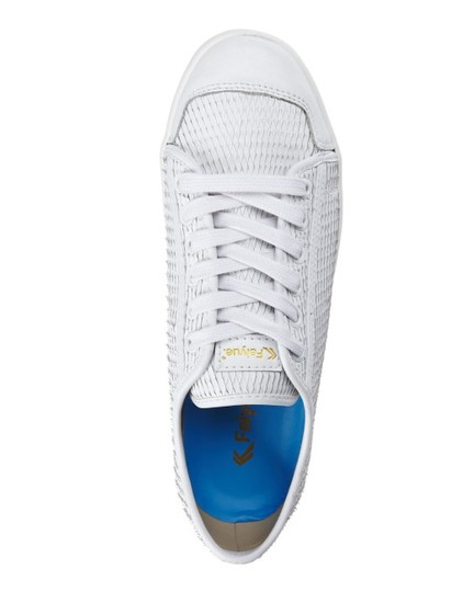 Feiyue Womens Sneakers Leather white Athletic Image 1