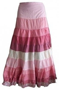 By Deep Los Angeles Maxi Skirt pink
