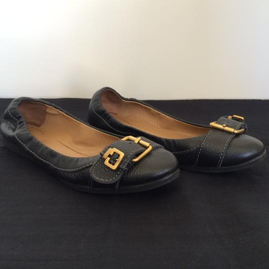 Chloé Leather Black Flats Image 1