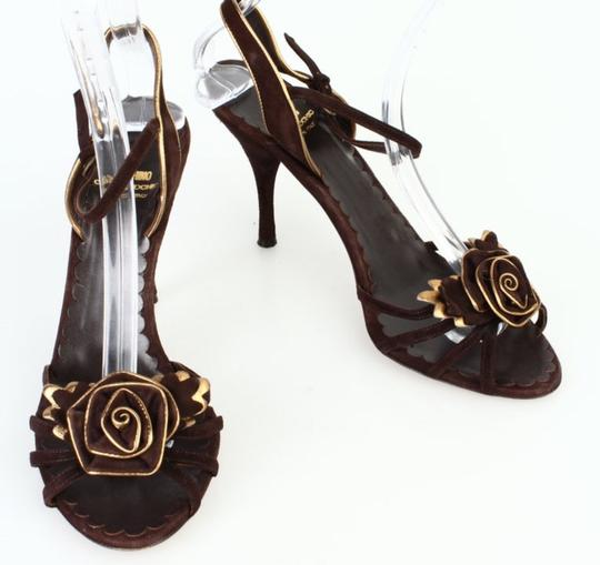 Moschino Brown Sandals Image 1