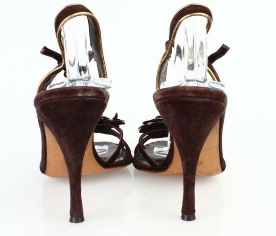 Moschino Brown Sandals Image 2
