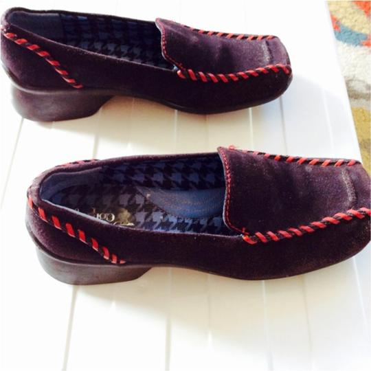 Clarks Brown Wedges Image 2